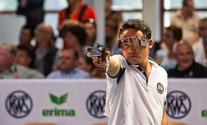 jitu rai wins bronze at issf world cup in korea