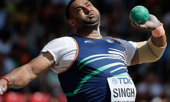 inderjeet singh first indian in worlds shot put final