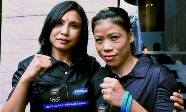 mary kom sarita devi enters final round of sag qualifiers