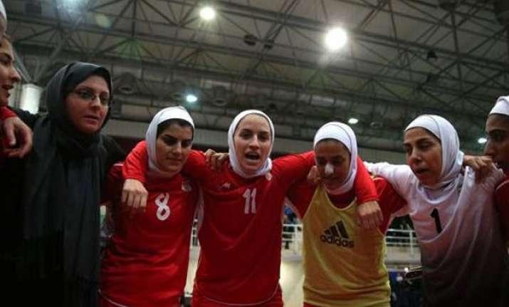 8 members of iran women s football team are actually men