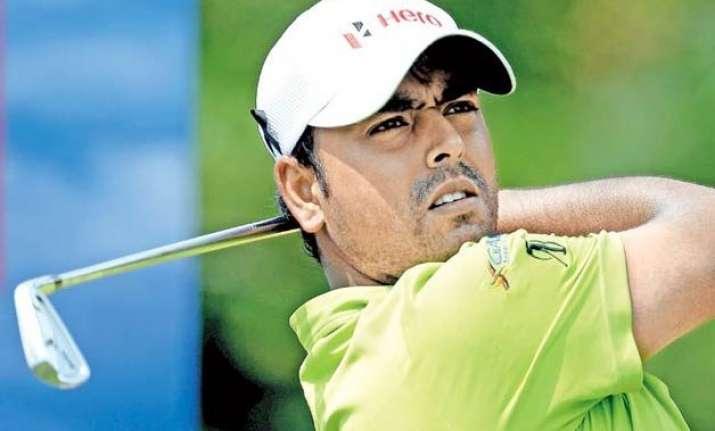golfer anirban lahiri cards 67 in european masters