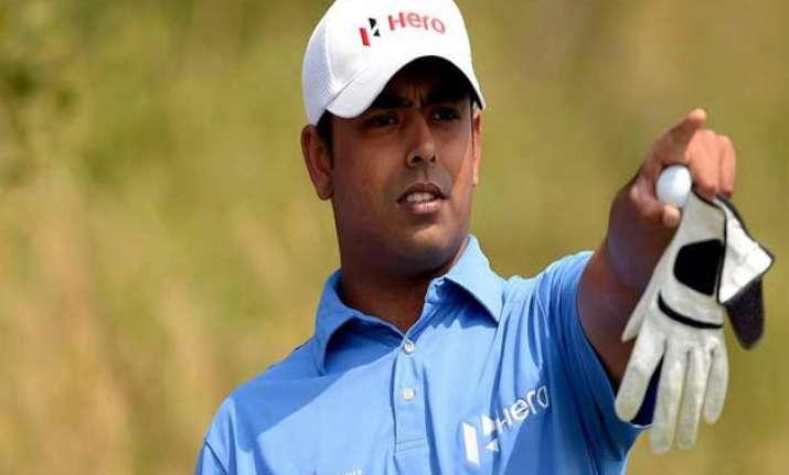 golfer lahiri misses halfway cut at shell houston open