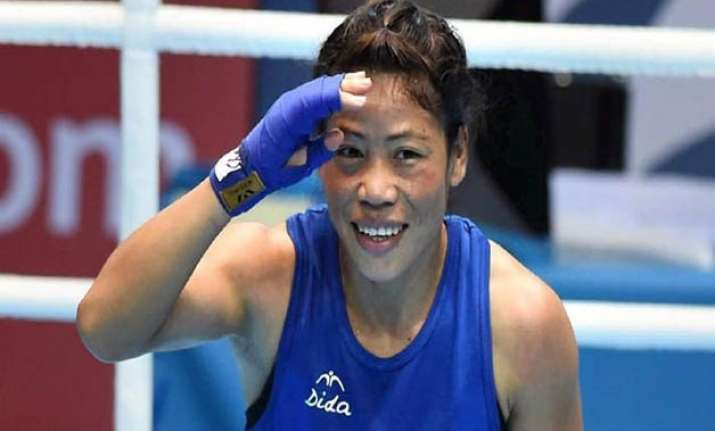 mary kom meets pm invites him for academy s inauguration
