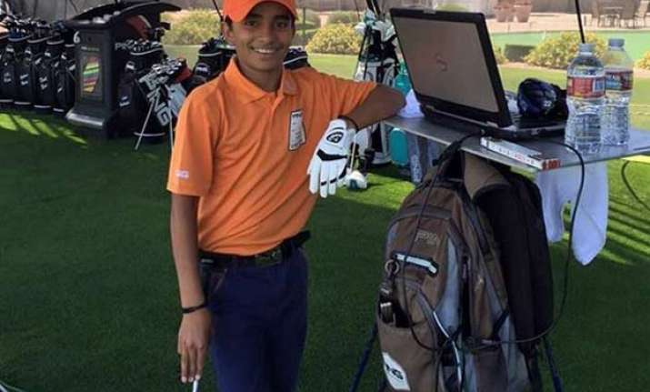 haryana boy shubham jaglan wins junior world golf title