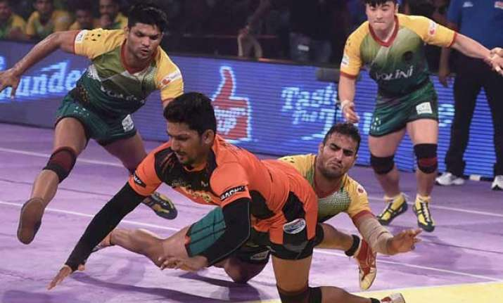 pro kabaddi u mumba hold edge over bengaluru bulls in title