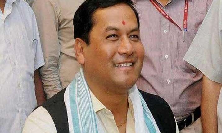 incheon games performance is inspiring sonowal