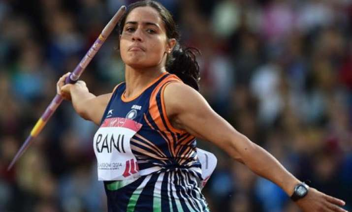 asian games annu rani wins bronze in women s javeline