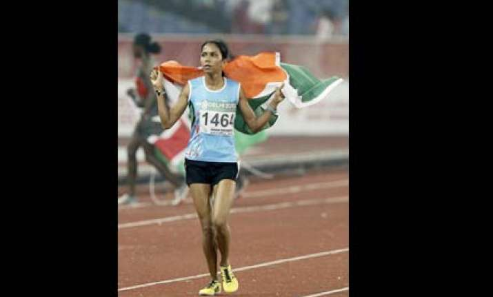 raut creates history for india in athletics event of cwg