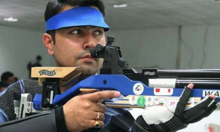 gagan samaresh anjali in line for gold in shooting nationals