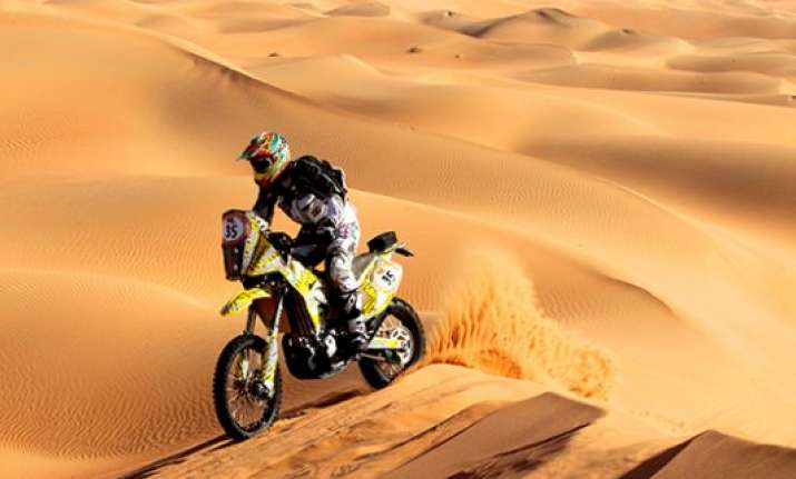 tvs racing set to debut at 2015 dakar rally