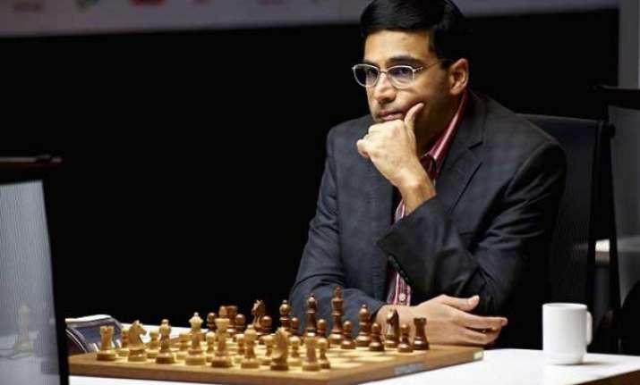 viswanathan anand draws with vladimir kramnik in shamkir