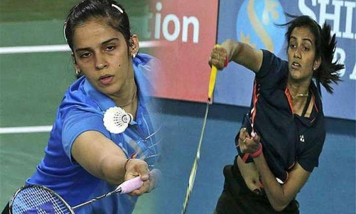 saina sindhu in 2nd round of denmark open