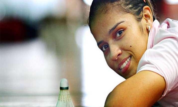 saina nehwal set to defend australian open title