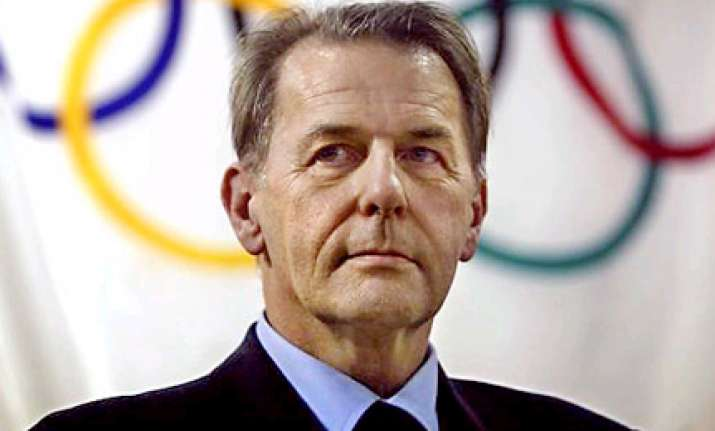 jacques rogge re elected as ioc president