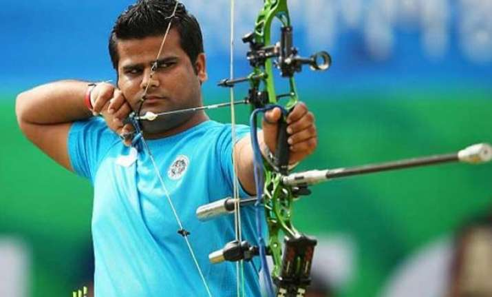 world archery india s rajat chauhan settles for silver