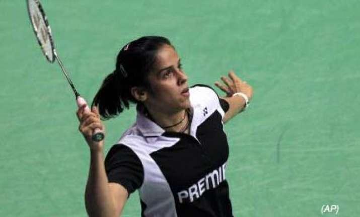saina nehwal enters third round of world badminton
