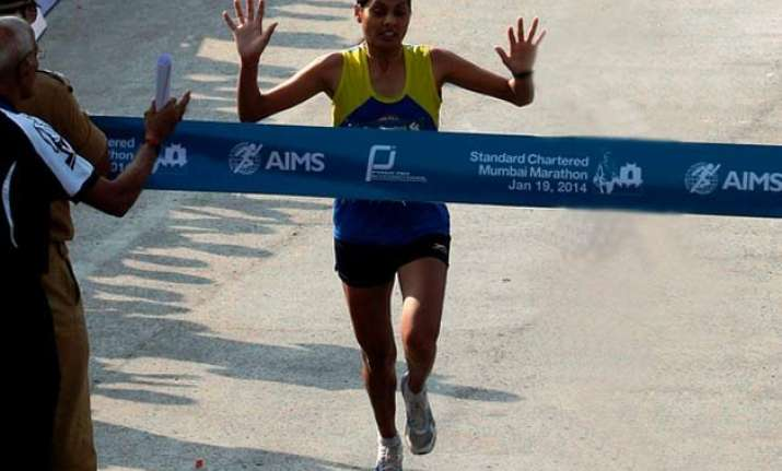 world athletics championships lalita babar breaks national