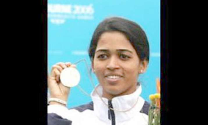 tejaswini sawant is india s first woman shooter to win gold