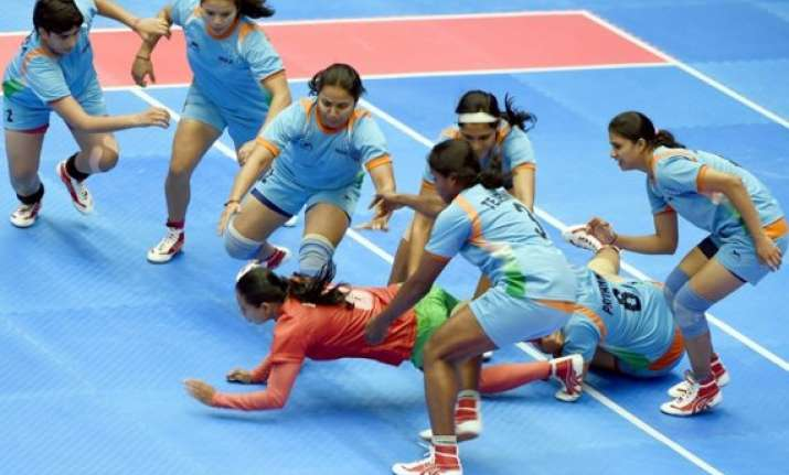 asian games indian women s kabaddi team in final
