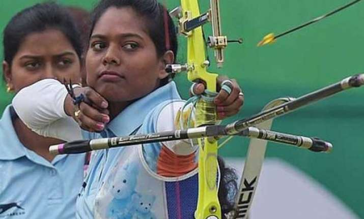 laxmirani majhi to fight for world archery bronze