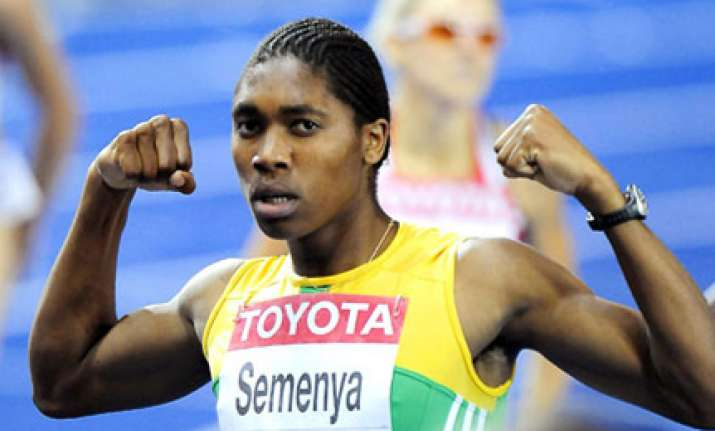 semenya likely to be fit for cwg coach