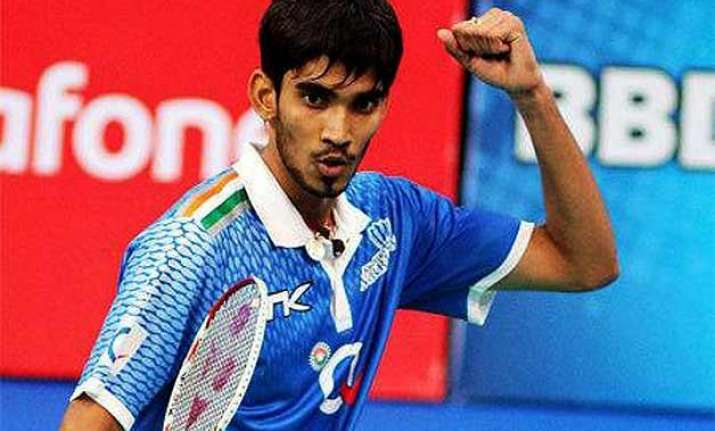 kidambi srikanth defeats ajay jayaram to reach the swiss