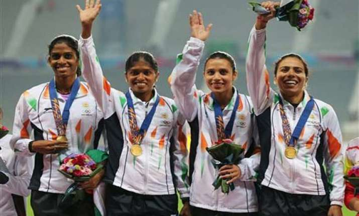 asian games india slips in gold while improving total