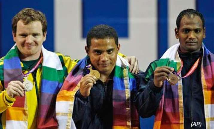 sudhir kumar wins bronze disappointed with performance