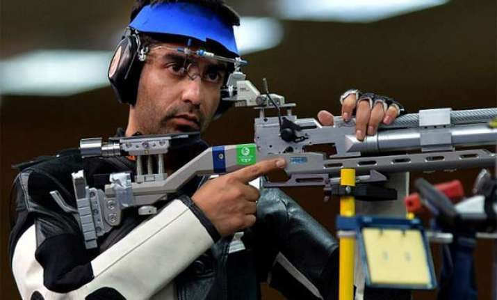 abhinav bindra chain singh win double gold medals