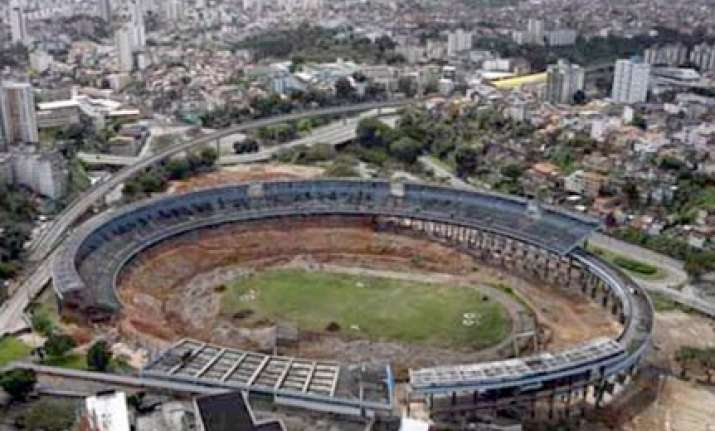 brazilian stadium torn down for new world cup venue