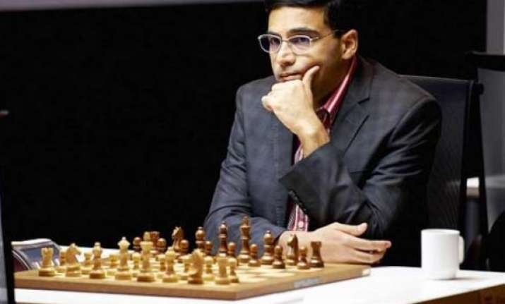 anand draws with kramnik in london classic