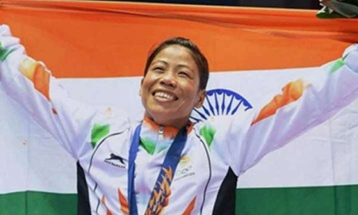 happy to answer critics says mary kom