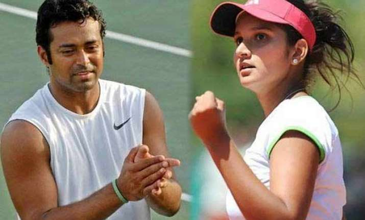 paes sania advance in australian open on republic day
