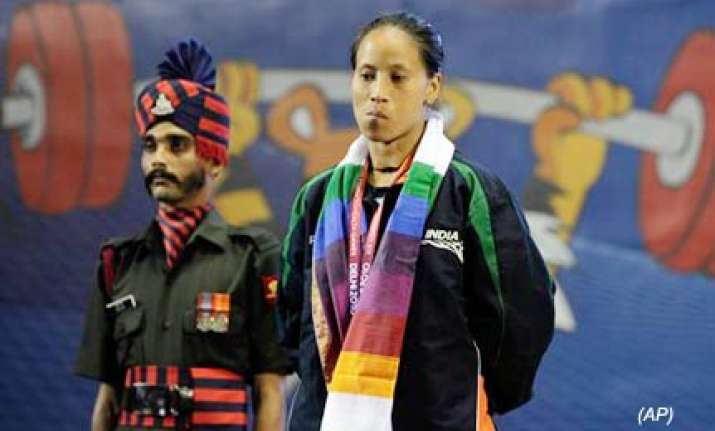 silver for chanu dey as indian lifters win four medals
