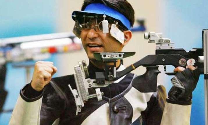 abhinav bindra qualifies for 2016 rio olympics