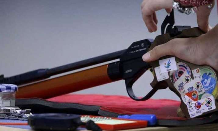 india wins bronze in men s double trap