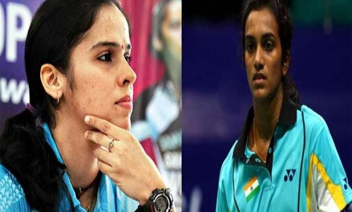 saina nehwal p.v. sindhu ousted from asia championships