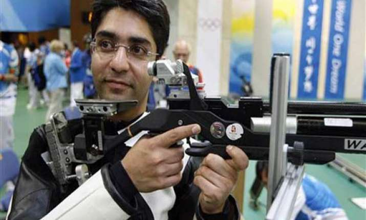 bindra wins bronze in shooting nationals gold for hariom