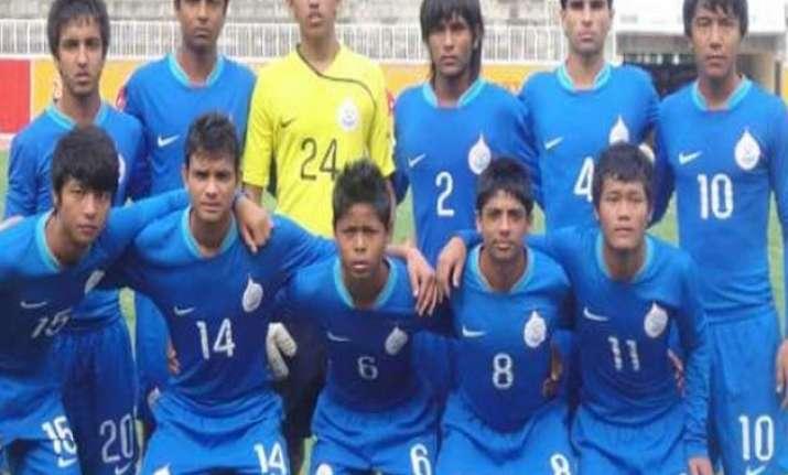 india u 16 football team to tour germany