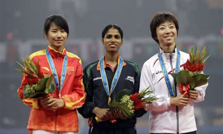 india grabs 2 golds on opening night at asiad track