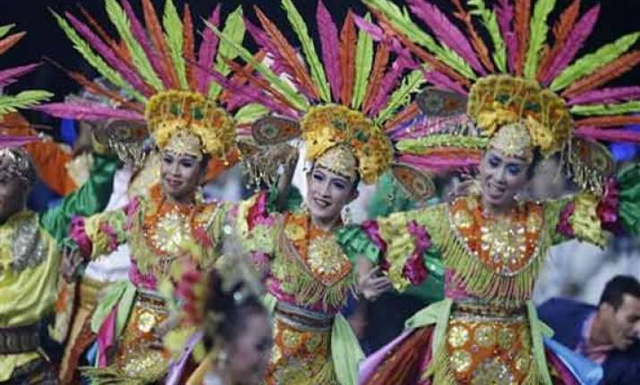 asian games end with enthralling cultural extravaganza