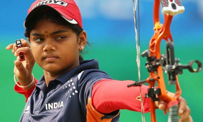 indian women archers win compound gold at sag 2016