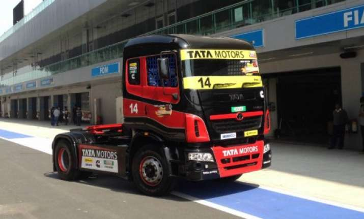 season 2 of tata motors run prima truck racing in march