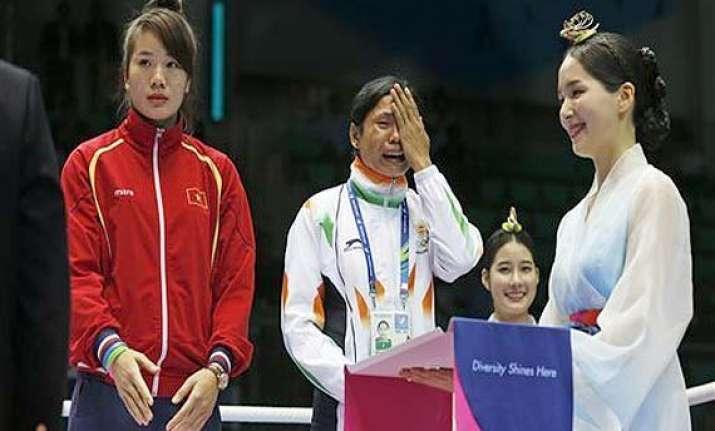 i am sorry won t do it again boxer sarita devi to aiba