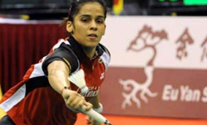saina crashes out of world championship