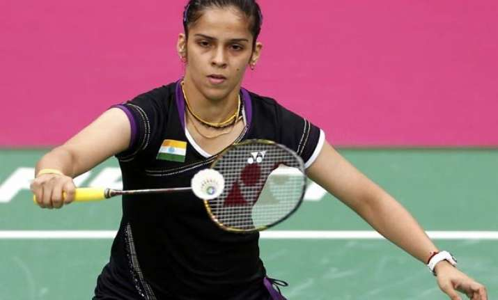 all england rematch between saina and carolina in the offing