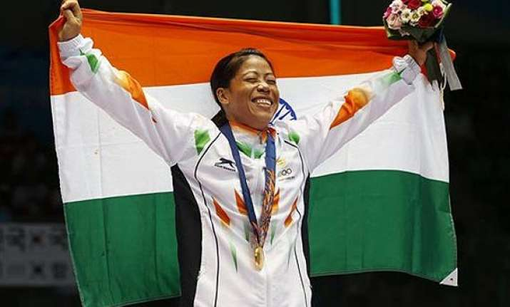 mary kom named mvp of india s asiad campaign