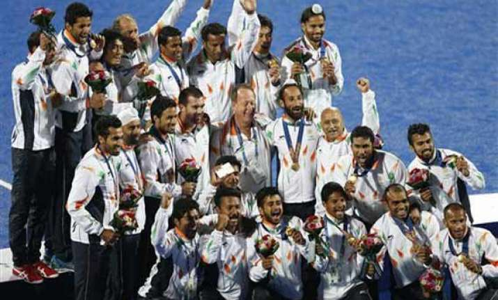 asian games men s hockey team regain gold india jump to