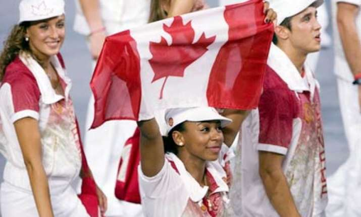 canada nz wanted to leave opening ceremony after march past
