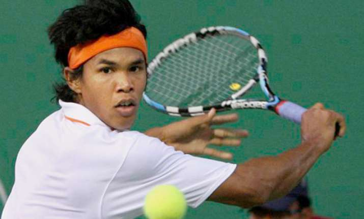 somdev holds key against south africa in davis cup